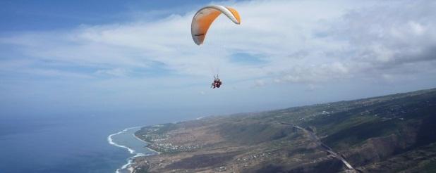 Lacaseafoule, un Gîte de la Réunion : Parapente St-Leu